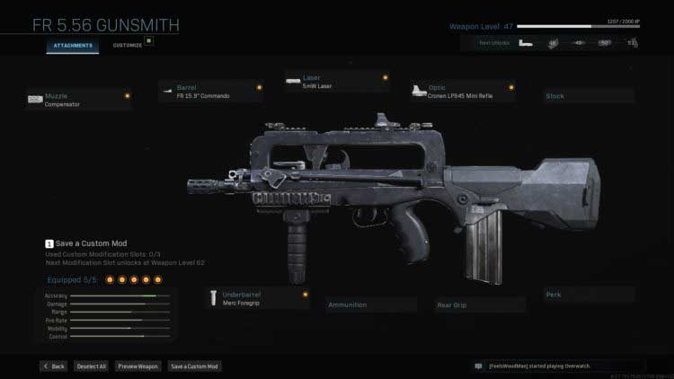 Call of Duty Warzone-FAMAS