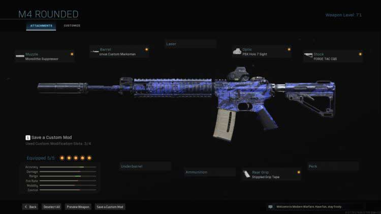 Call of Duty Warzone-M4A1