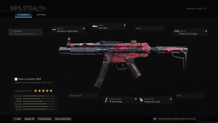 Call of Duty Warzone-MP5
