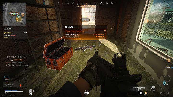 Чтобы найти эпическое или легендарное оружие в боевой зоне Call of Duty, сначала нужно найти специальный ящик - Warzone: список уровней оружия - Основы - Руководство по Warzone