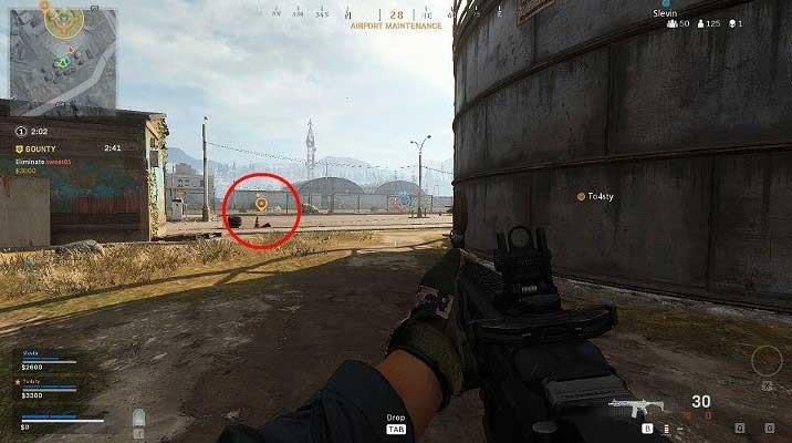 Чтобы использовать метку движения, просто наведите персонажа в правильном направлении и один раз нажмите кнопку пинга - Warzone: Общение - Основы - Руководство по Warzone