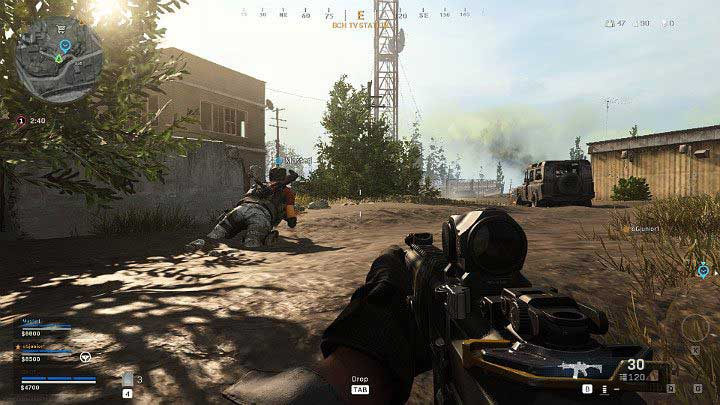 Игроки могут ползти в Call of Duty Warzone - Warzone: Основы геймплея - Основы - Руководство по Warzone