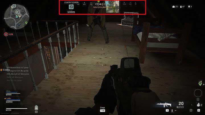Компас находится в верхней части экрана, в центре - Warzone: Основы игрового процесса - Основы - Руководство по Warzone