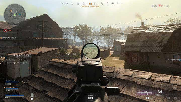 По сравнению с другим топовым оружием SMG, скорость Бизонов, к сожалению, неудовлетворительная, что означает, что вы часто проигрываете дуэль с игроком, использующим e - Warzone: список уровней оружия - Основы - Руководство по Warzone