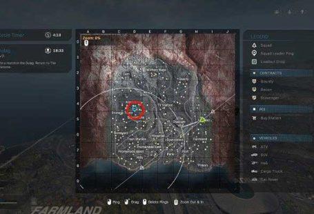 На картинке выше вы можете видеть синий маркер - один игрок отметил предложенное место приземления - Warzone: ход матча - Основы - Руководство по Warzone