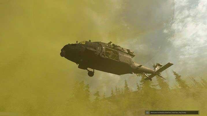 Через некоторое время над головами победившей команды появится вертолет, эвакуирующий всю команду из области карты Верданска - Warzone: ход матча - Основы - Руководство по Warzone