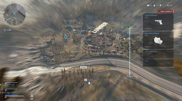 Чтобы получить бонус за скорость полета в Call of Duty Warzone, вы должны поддерживать соответствующий порог при спуске и нажимать кнопку, отвечающую за движение вперед - Warzone: Лучшие места для приземления - Основы - Руководство по Warzone