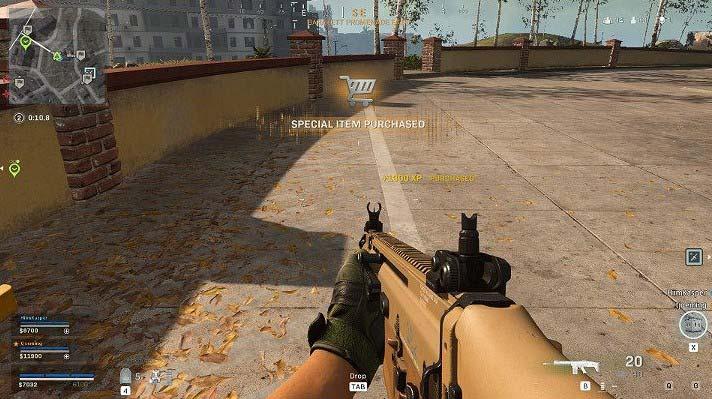 В зависимости от варианта, выбранного в магазине, игрок может получить определенное количество очков опыта