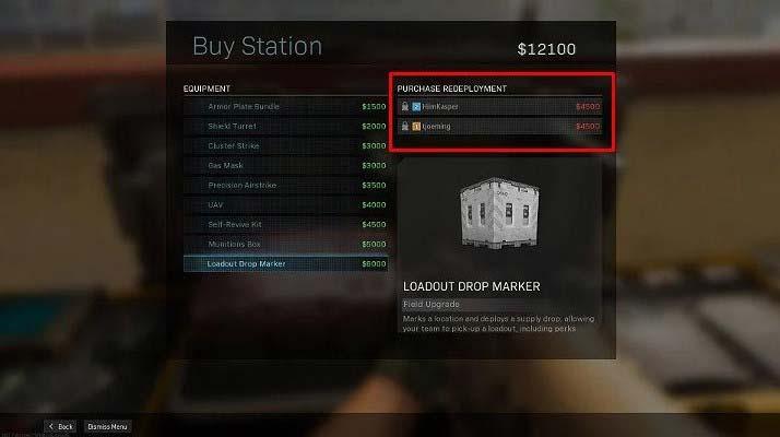 Если у вас недостаточно денег, чтобы вернуть в игру другого игрока, попробуйте объединиться с выжившим союзником