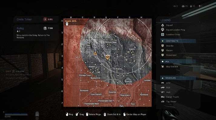 Открыв карту, вы также можете заметить, что интерфейс такой же