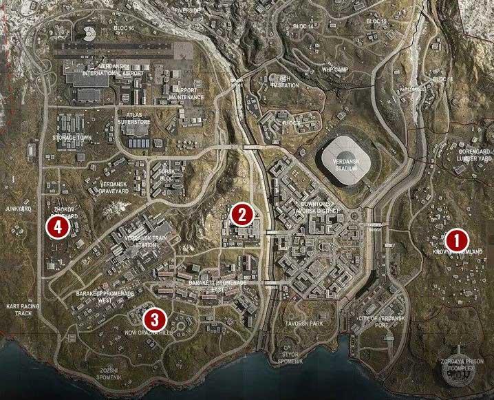 Нагрузка в Call of Duty Warzone Solos должна быть максимально универсальной