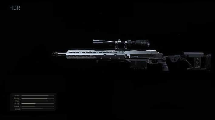 Рекомендуемые модификации для снайперской винтовки HDR