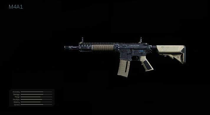 Рекомендуемые модификации оружия для M4A1