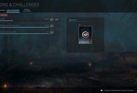 Среди ежедневных испытаний, доступных в Call of Duty Warzone, у вас есть - Warzone: Barracks - Basics