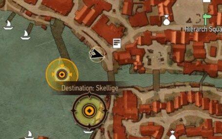 Острова Скеллиге - одна из главных частей игрового мира