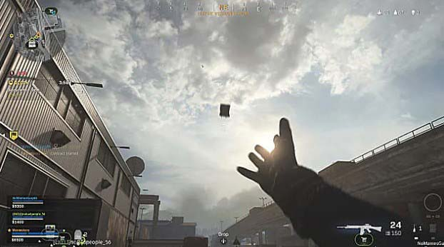 Как бросить C4 дальше  в Call of Duty Warzone